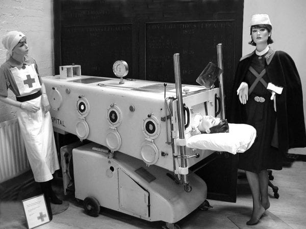 An Iron Lung from the 1960s