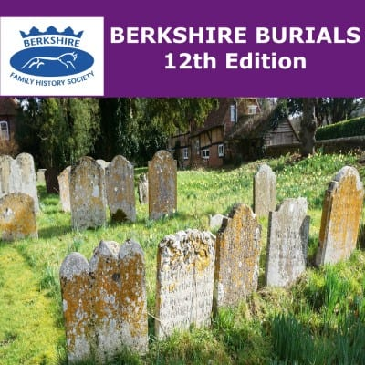 Berkshire Burials (12th Edition) CD