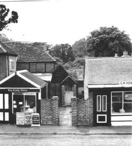 Candy Stores, Shurlock Row, 7th August, 1963