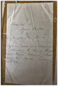 Alfred Purtons Bible 1874 (courtesy Jane Barrett)