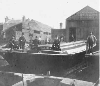 The Talbot family of barge builders