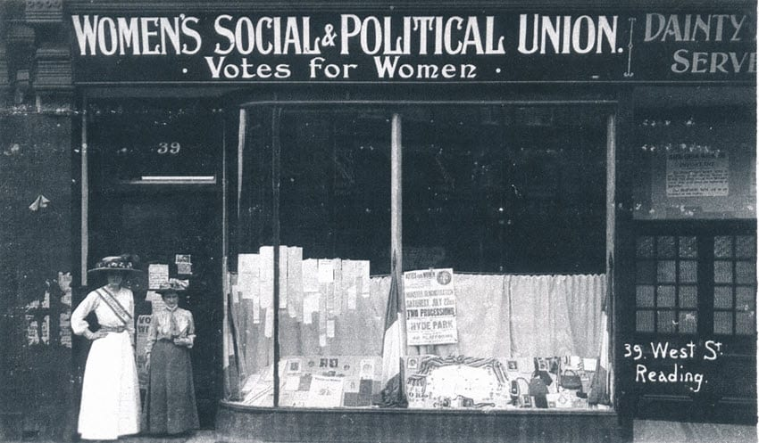 Women's Suffrage: the cause in Reading