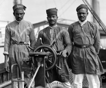 Black and Asian merchant seamen in the First World War